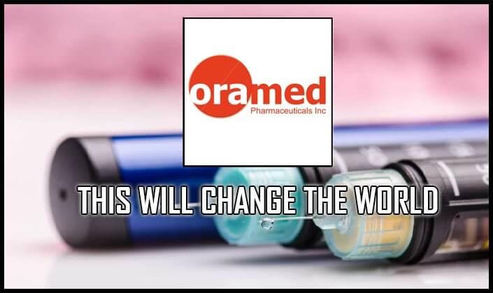 oramed pharmaceuticals stock