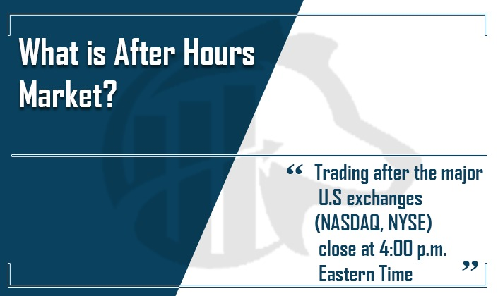 after hour trading