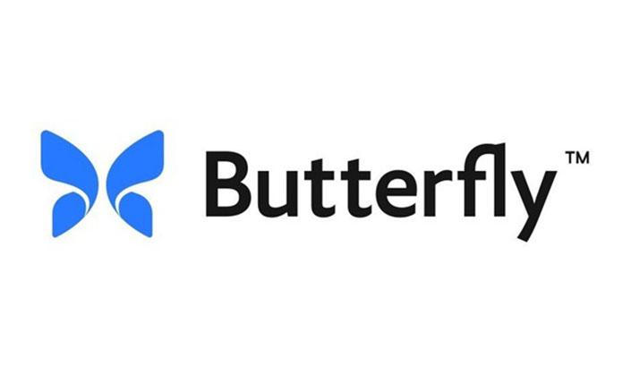butterfly stock logo