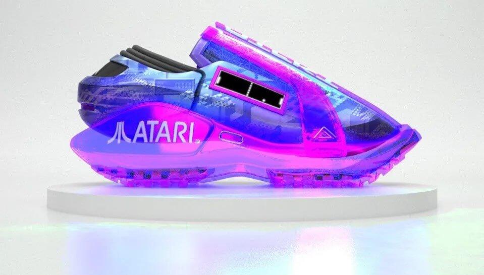 Atari NFT sneakers